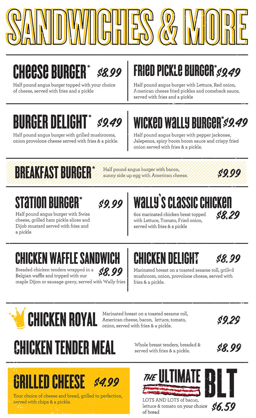 Wally Waffle | Akron's Best Breakfast