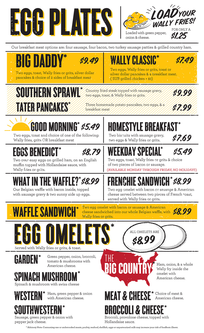 Wally Waffle | Akron\'s Best Breakfast